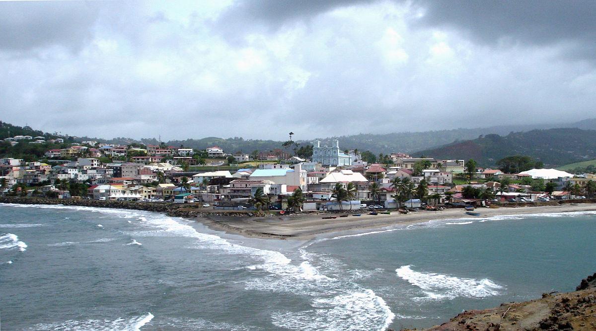 Ville De Sainte Marie En Martinique