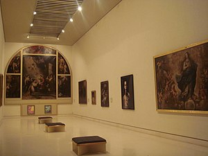 Bartolomé Esteban Murillo - The Murillo Room in the Museum of Cádiz