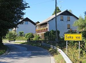 Šalka Vas - Image: Salka Vas Slovenia