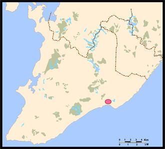 Elsimar M. Coutinho - Location of Itapoã in Salvador.