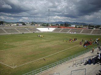 Sport in Namibia - View of Sam Nujoma Stadium before a Namibia and South Africa U-20 game in March 2008