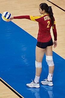 Samantha Bricio Mexican volleyball player