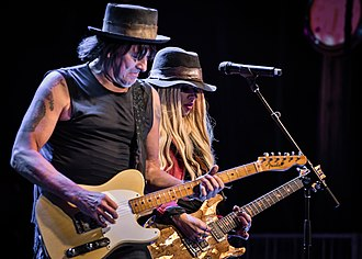 Richie Sambora - Sambora and Orianthi at NAMM, January 2017.