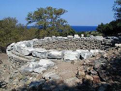 Samothraki Arsinoe rotunda