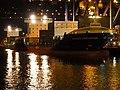 Samskip Innovator & Samskip Courier by night in Rotterdam pic1.JPG
