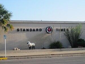 San Angelo Standard-Times - San Angelo Standard-Times building