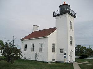 Sand Point Light - Sand Point Lighthouse