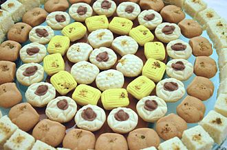Sandesh (confectionery) - Assortment of sandesh from Kolkata, India