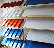 ساندویچپنل - ویکیپدیا، دانشنامهٔ آزادساندویچ پانل سقفی و دیواری