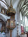 Sankt Oswald bei Freistadt Pfarrkirche - Kanzel 1.jpg