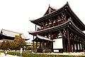 Sanmon of Tōfukuji - panoramio.jpg
