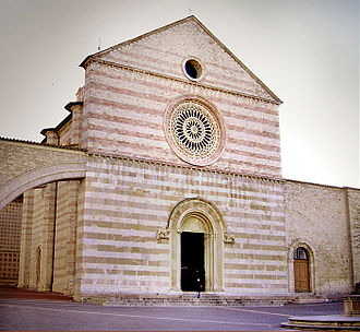 Clare of Assisi - Basilica of Saint Clare, Assisi