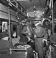 Santa Claus at a tram in Stockholm 1950 (6096282984).jpg