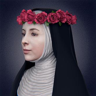Cícero Moraes - Rose of Lima - facial reconstruction