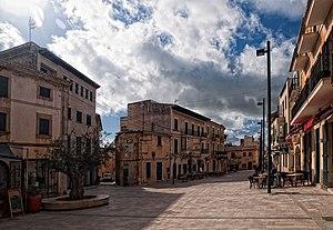 Santanyí - Plaça Major, Santanyí, Majorca