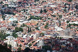 Sarajevo City Center from Trebevic