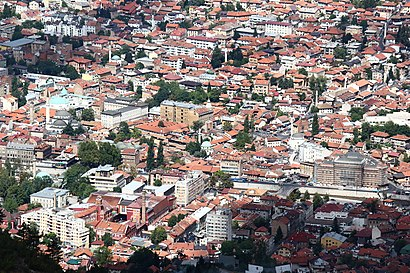 How to get to Stari Grad Sarajevo with public transit - About the place