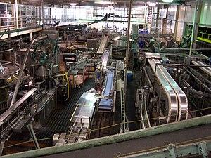 Matt Brewing Company - Floor of the Saranac Brewery