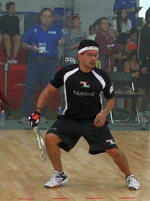 Sathwik Rai - Sathwik Rai at the 2010 World Racquetball Championships in Seoul, Korea