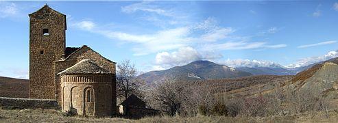 Satué - Iglesia de San Andrés - Vista02.jpg