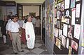 Satya Sadhan Chakraborty with other Dignitaries Visit Panel Exhibition Reminiscence - BITM 40th Anniversary Celebration - Calcutta 1999-05-02 172.JPG
