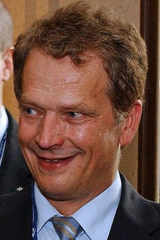 Finnish presidential election, 2006 - Image: Sauli Ninisto (cropped)