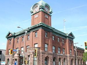 Sault Ste. Marie, Ontario - Sault Ste. Marie Museum in downtown Sault Ste. Marie