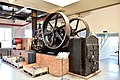 Sawmill locomotive, steam engine, made 1917, worked until 1966. Eskilstuna stadsmuseum. Sweden.jpg