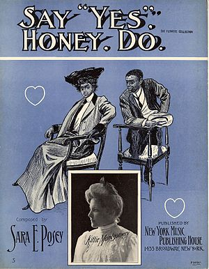 1905 in music - Image: Say Yes Honey Do