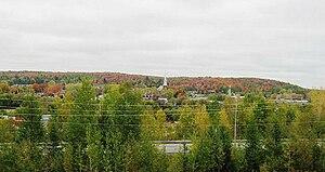 Richmond, Quebec - Richmond from far