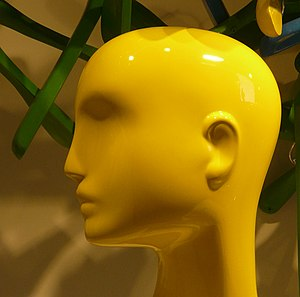 The Yes Album - A mannequin's head, similar to this one, was used in the front cover shot.
