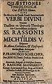 Schilcher, Franz Quaestiones theologicae cur Deus homo, sive De motivo & causa finali incarnationis verbi divini, Dillingen 1702.jpg