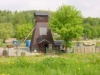Silver Road - Visitor mine of Markus Semmler Stolln in Bad Schlema