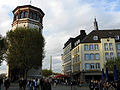 Schlossturm, Oberkassler Brücke, Goldener Ring 2.jpg