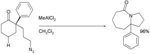Schmidt reaction - Intramolecular Schmidt Reaction