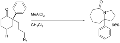 Intramolecular Schmidt Reaction