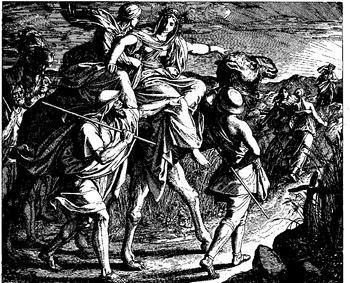 Schnorr von Carolsfeld Bibel in Bildern 1860 030