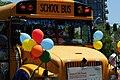 School bus in Gay Pride Parade (3673545545).jpg