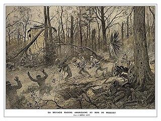 Battle of Belleau Wood First World War battle in 1918