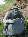 Sculpture - Maloya - joueur de roulèr.jpg