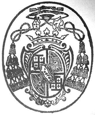 Pierre Pigneau de Behaine - Episcopal seal of Mgr Pigneau de Behaine.