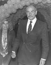 Sean Connery at the premiere of Seems Like Old Times in 1980