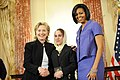 Secretary Clinton With First Lady Michelle Obama and Honoree Shukria Asil of Aghanistan (4438235044).jpg