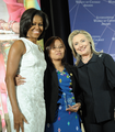 Secretary Clinton and First Lady Obama With 2012 IWOC Award Winner Zin Mar Aung of Burma.png