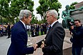Secretary Kerry Lays Flowers at Monument of Remembrance in Luxembourg City (28346508365).jpg
