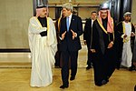 File:Secretary Kerry Speaks With Qatari Foreign Minister Before Syrian Donors' Conference (11962672783).jpg