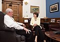 Secretary Perdue meets with U.S. Representative Cathy McMorris Rodgers 20170612-OSEC-LSC-0012 (34417689634).jpg