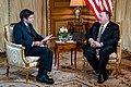 Secretary of State Michael R. Pompeo With Laureano Perez Izquierdo of Infobae - 48332940897.jpg