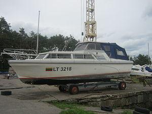Seestern powerboat in Lithuania.JPG