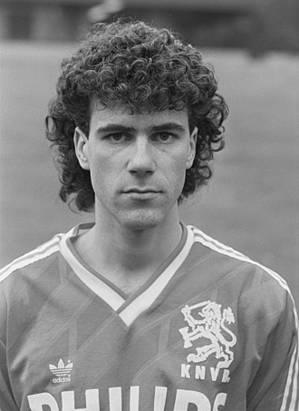 Peter Bosz - Bosz in 1988